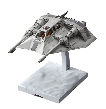 Star Wars Bandai Plastic Model Kit 1/48 Snowspeeder